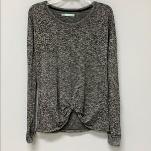 Women's Grey Long Sleeve